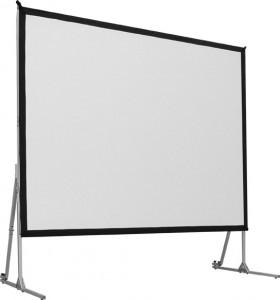 Mobile Rahmenleinwand WAM Fold 300 x 170 cm, Format 16:9